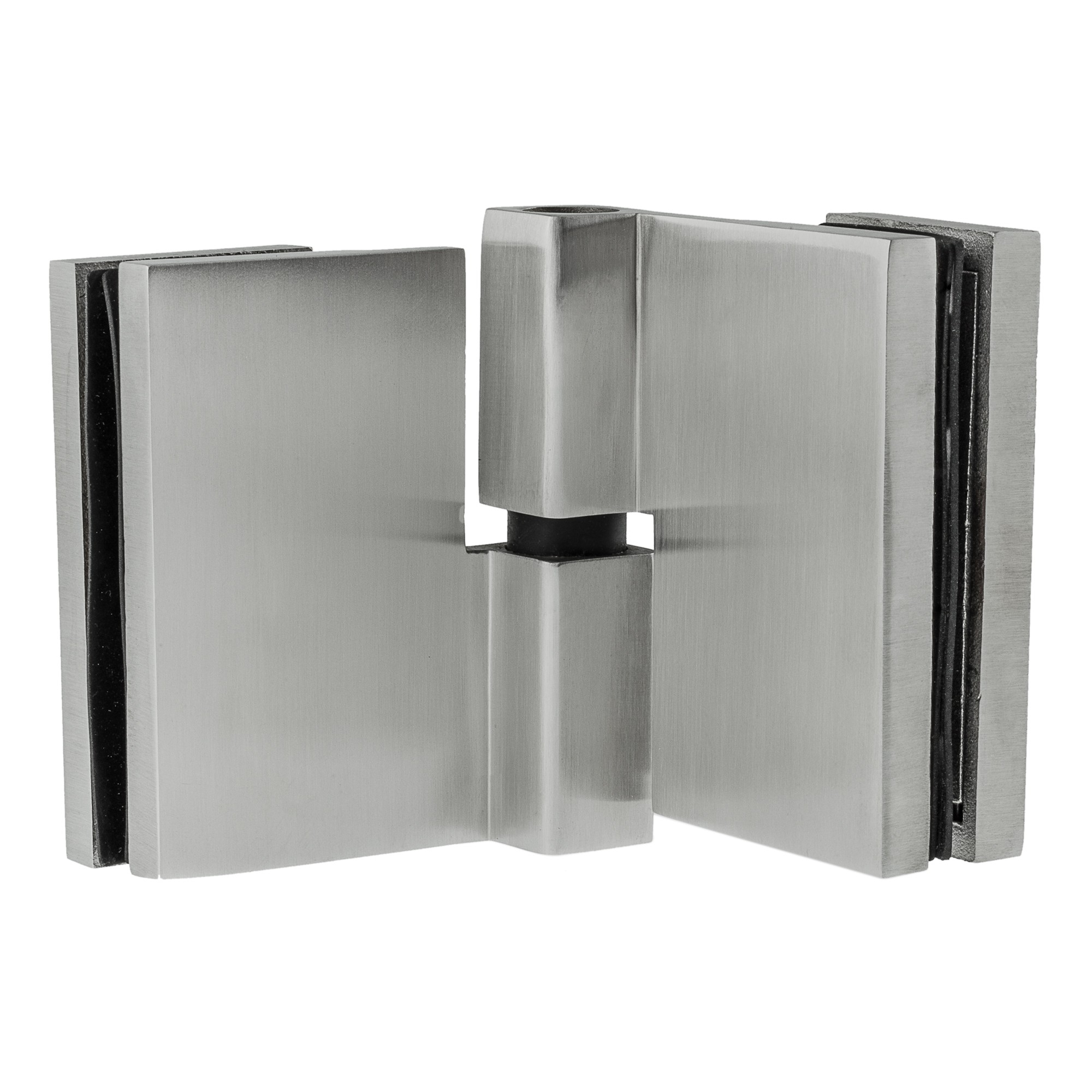 Stangenscharnier 80 x 30 mm Edelstahlscharnier Tür Hinge Silber