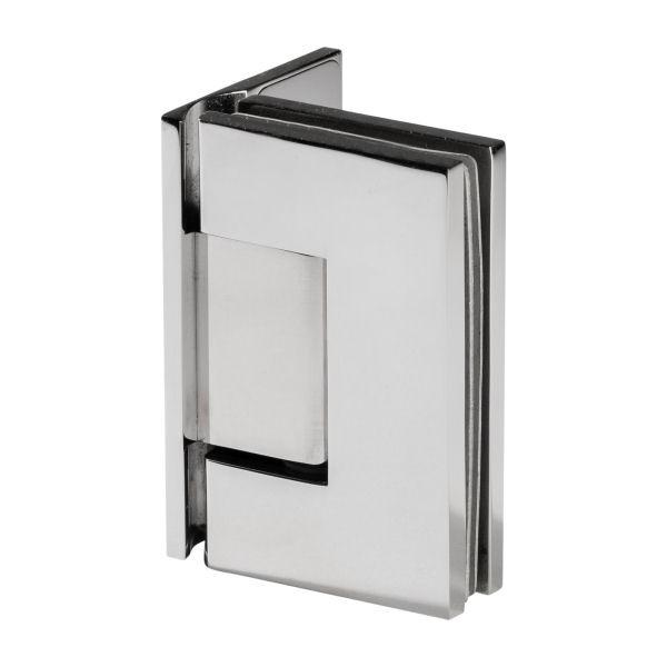 scharnier verbindung glas wand 90 hochglanz glas wand scharniere dusche etg. Black Bedroom Furniture Sets. Home Design Ideas