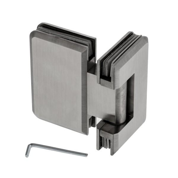 scharnier verbindung edelstahl glasscharnier etg. Black Bedroom Furniture Sets. Home Design Ideas