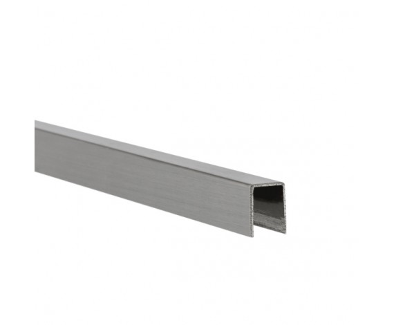 U-Profil für 6 mm Glasstärke