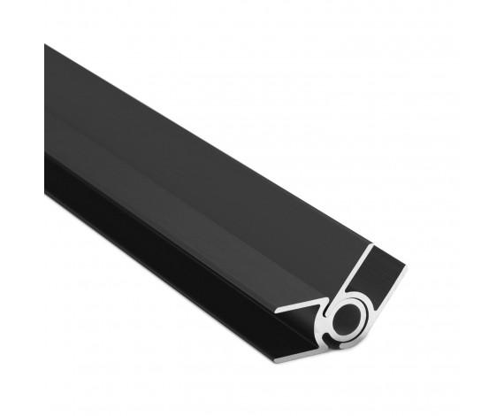Flex-Eck-H-Profil-128° 10 mm - Anthrazit