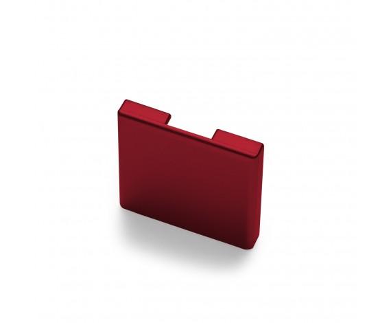 Passende Endkappe für das Glasklemmprofil Mini zum aufklipsen - Individuelle Farbe