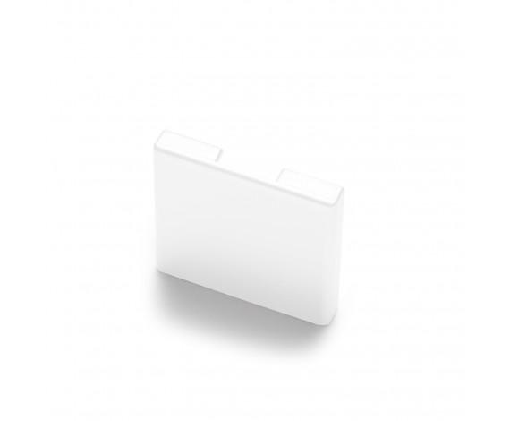 Passende Endkappe für das Glasklemmprofil Mini zum aufklipsen - Weiss
