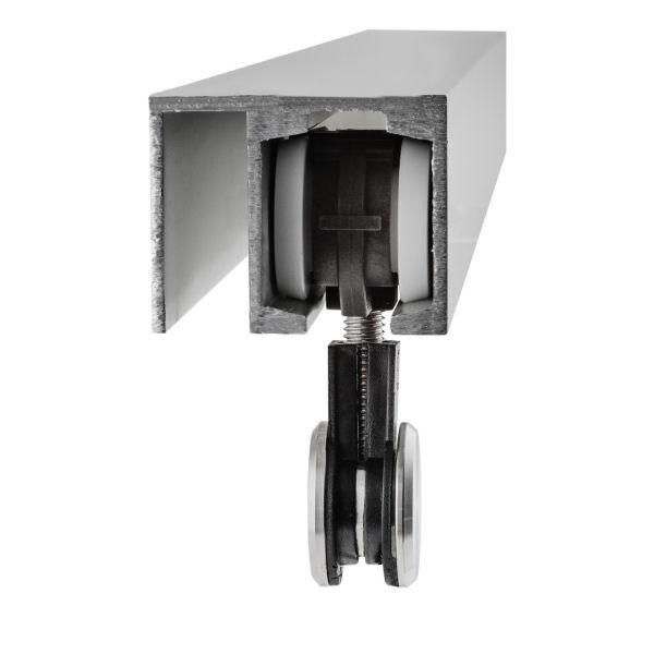 Laufschiene für 1-flügelige Glas-Schiebetür, Bild 8