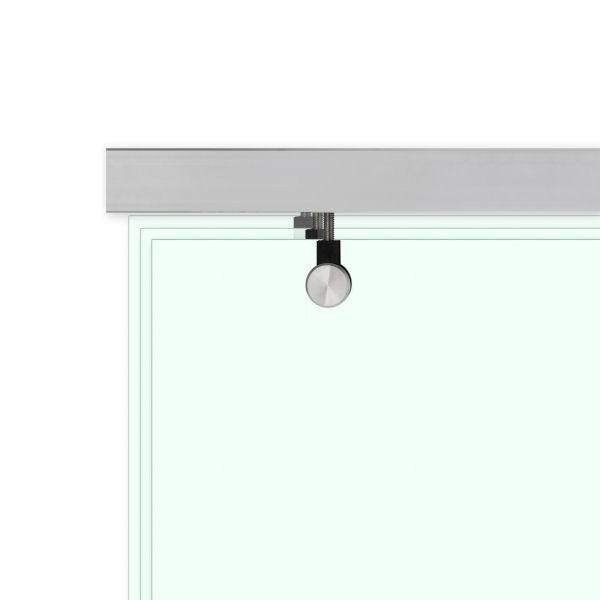 Laufschiene für 1-flügelige Glas-Schiebetür, Bild 4
