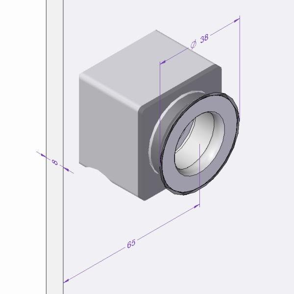 ergonomische Form mit beidseitigen Griffmulden, Bild 2