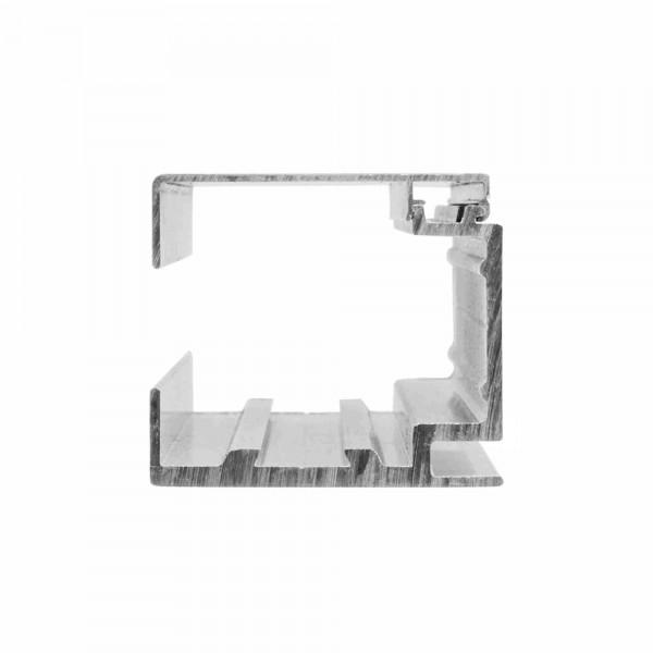 Führungsschiene für Laufwagen 8300H-4 | Länge bis 5 m | Deckenmontage | Aluminium, Bild 3