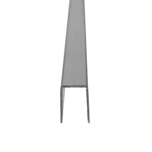 U-Profil für 8 mm Glasstärke, Bild 2