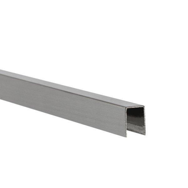 U-Profil für 8 mm Glasstärke