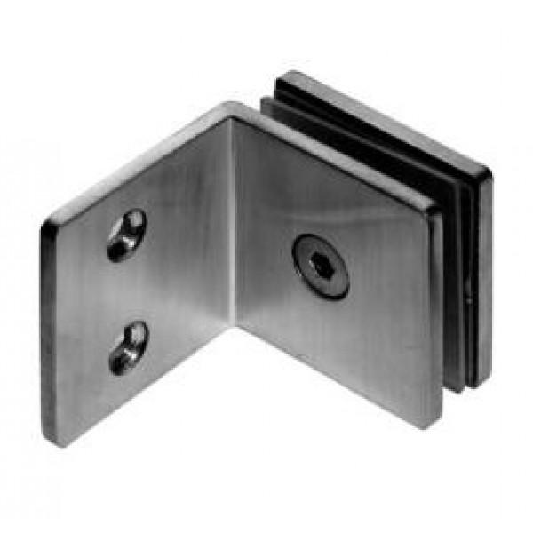 Winkelverbinder Glas-Wand 90° 8500L-11