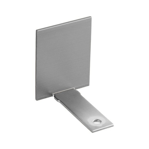 Endkappe aus Aluminium in Edelstahloptik, Bild 2