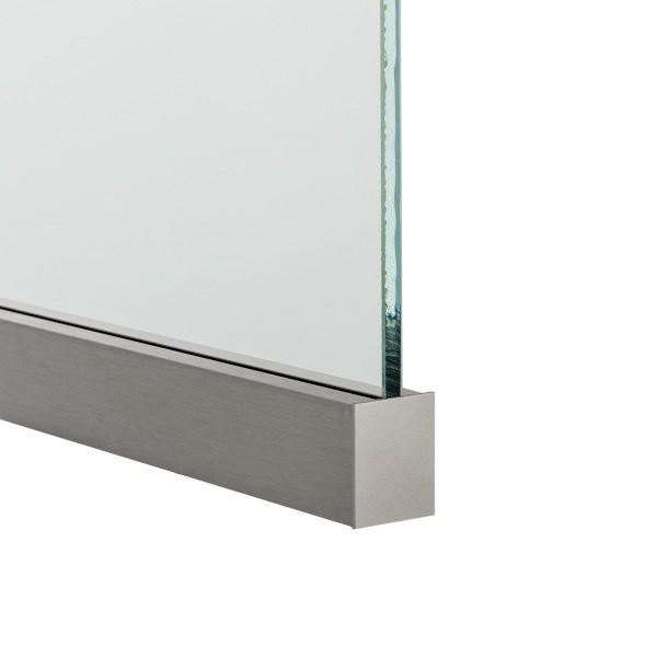 Endkappe aus Aluminium in Edelstahloptik, Bild 3