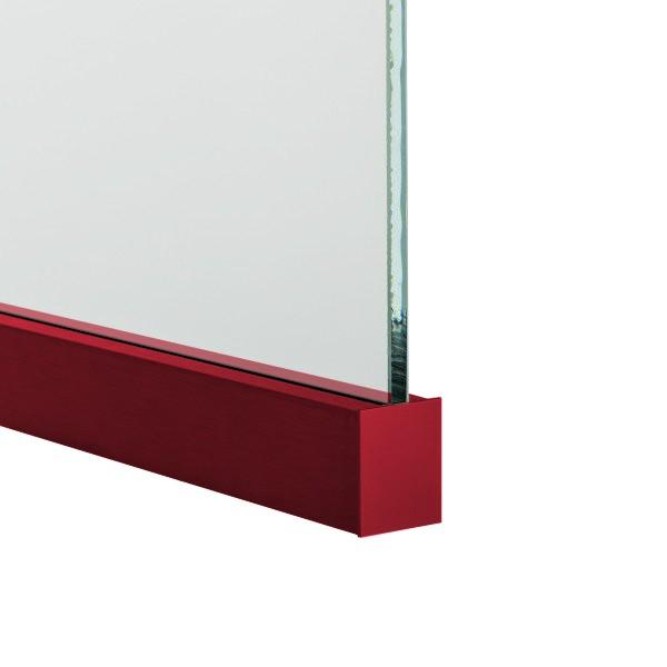 Endkappe aus Aluminium in individueller Beschichtung, Bild 3