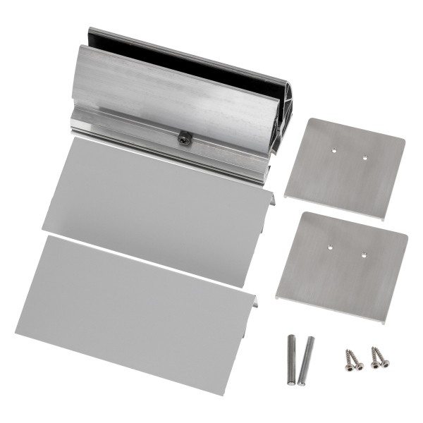 Profilsystem für Vordach und Seitenwindschutz mit Verbindung über 90° - Fixhöhe 2.400 mm, Bild 5