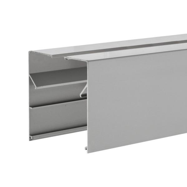 Wandklemmprofil rechtwinklig für 17,52 mm SentryGlas eckige Abdeckung Aluminium Länge bis 5.000 mm, Bild 8