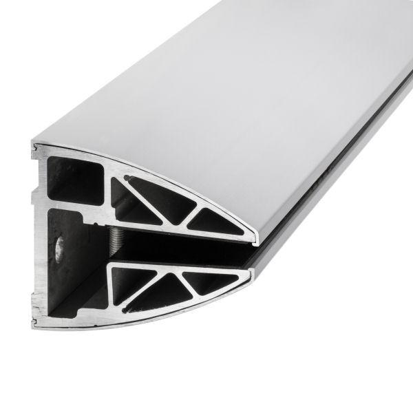 Profil für 21,52 mm SentryGlas mit Endkappe zum Verschrauben, Bild 6
