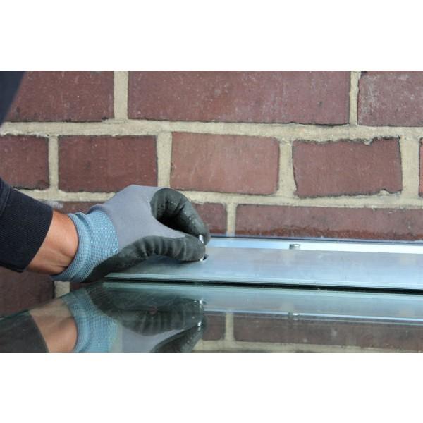 Wandklemmprofil rechtwinklig für 17,52 mm SentryGlas eckige Abdeckung Aluminium Länge bis 5.000 mm, Bild 7