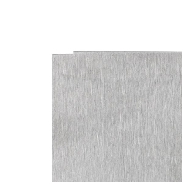 Wandklemmprofil rechtwinklig für 21,52 mm SentryGlas eckige Abdeckung Aluminium bis 5.000 mm Länge , Bild 5