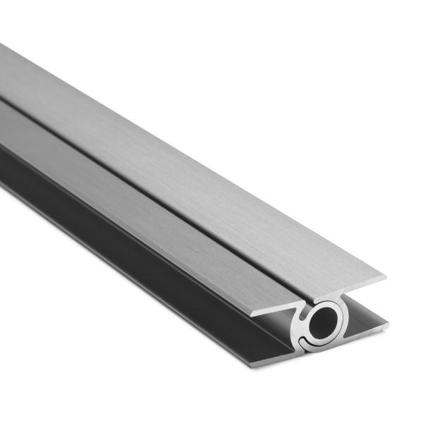 Flex-Eck-H-Profil-128° 10 mm - Edelstahloptik, Bild 2