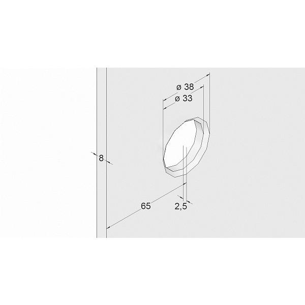 ergonomische Form mit beidseitigen Griffmulden, Bild 3