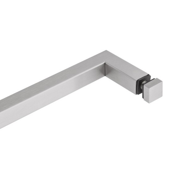 Relativ Handtuchhalter Edelstahl - Glasdusche   500 mm   matt gebürstet NQ94