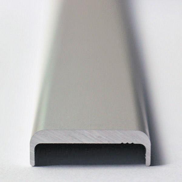 Inline Kantenschutz für 16,76 - 17,52 mm Glas blank