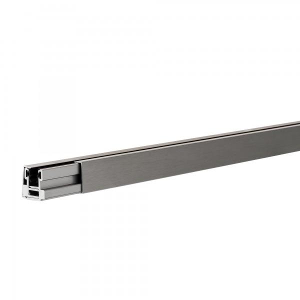 """Klemmprofil """"MINI-E"""" als Abschluss für Glastrennwände f. 8 + 10 mm Glasstärke, Edelstahloptik, Bild 5"""