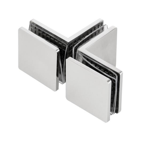 T-Stück zur Verbindung von 3 Glasscheiben