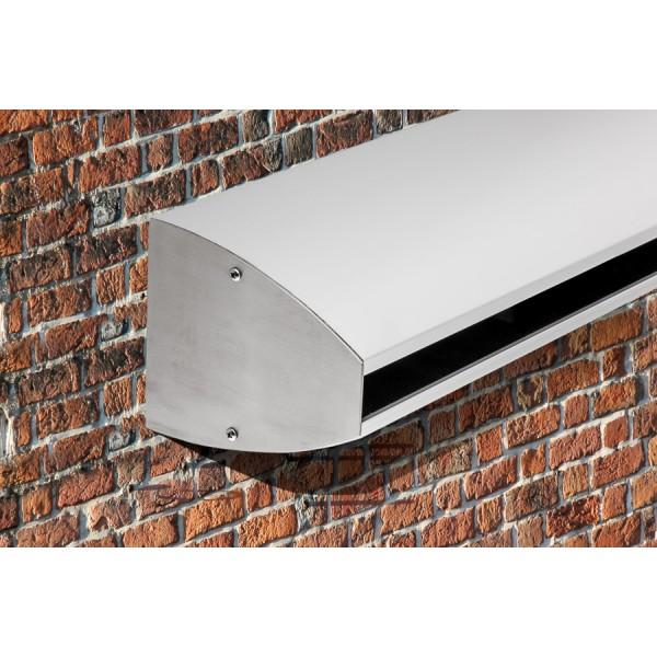 Wandklemmprofil rechtwinklig für 17,52 mm SentryGlas ovale Abdeckung Aluminium bis 5.000 mm, Bild 3