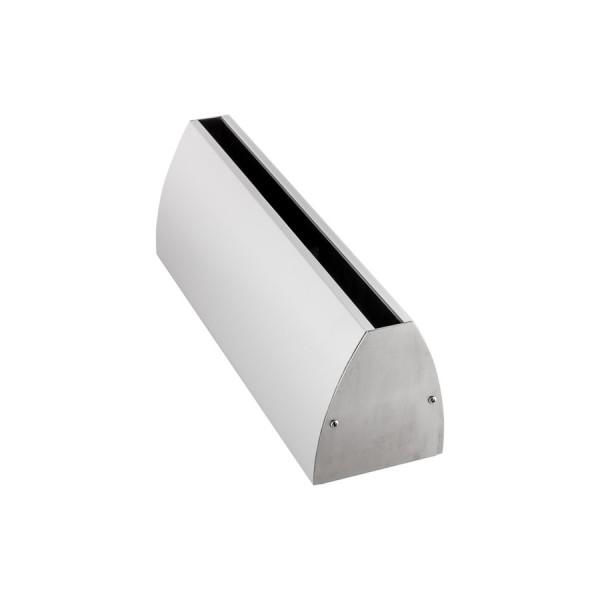 Wandklemmprofil rechtwinklig für 17,52 mm SentryGlas ovale Abdeckung Aluminium bis 5.000 mm, Bild 4