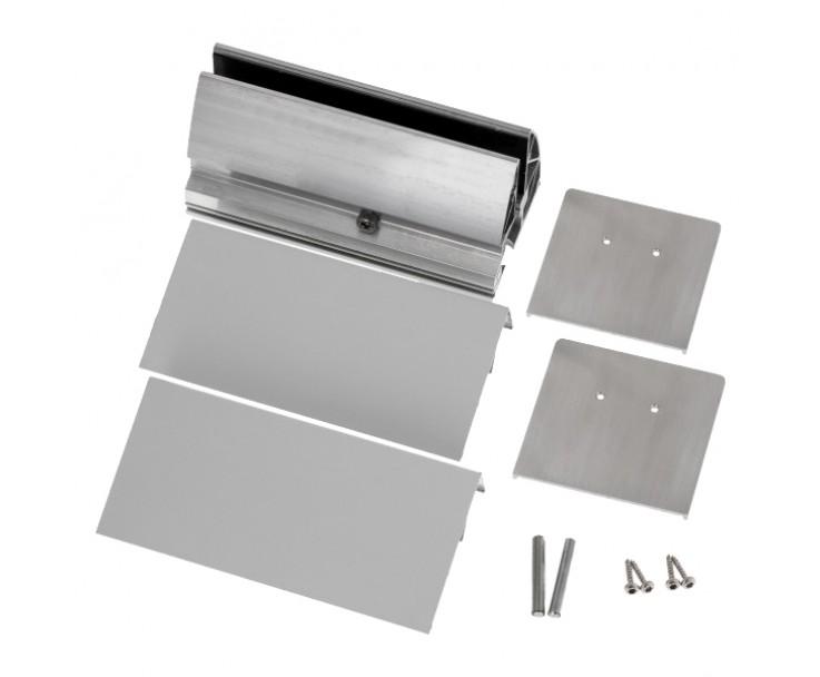 Wandklemmprofil 0° 17,52 mm, eckig - Edelstahloptik, Bild 6