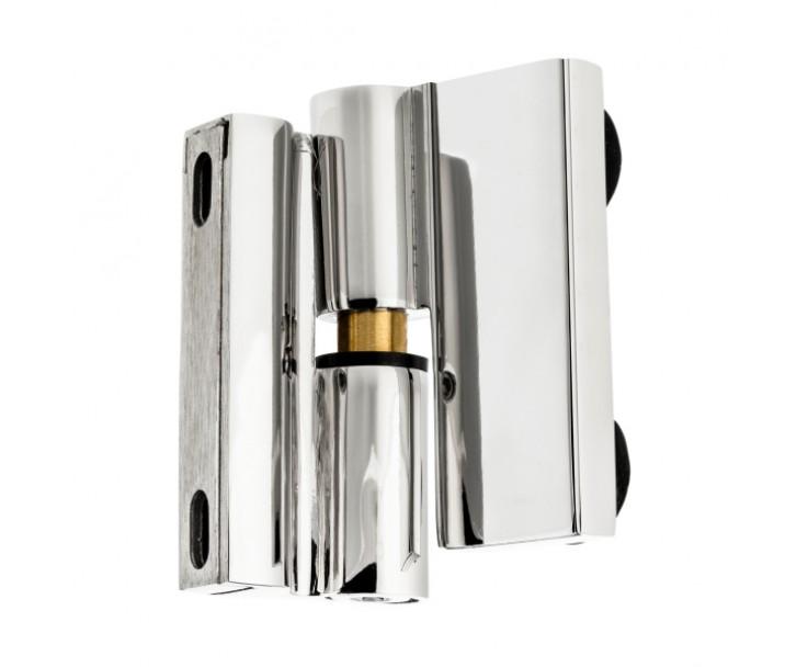 Scharnier-Verbindung Glas-Wand 90° Linksanschlag - Hebe-Senk-Funktion, Bild 8