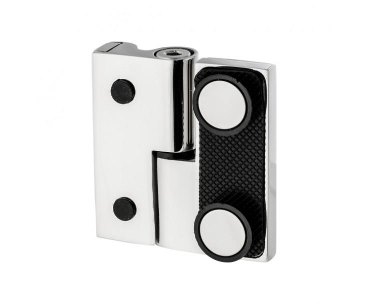 Scharnier-Verbindung Glas-Wand 90° Linksanschlag - Hebe-Senk-Funktion, Bild 7
