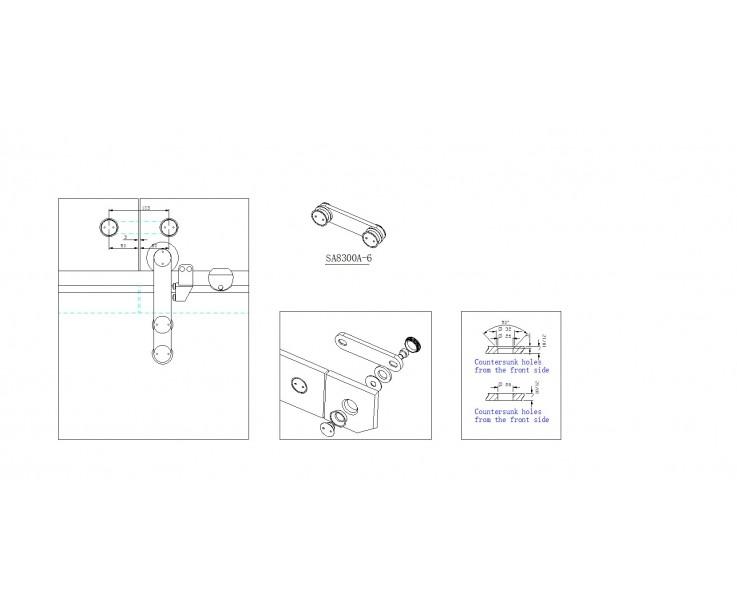 2-Punkt Glasverbindung 8300A-6, Bild 4