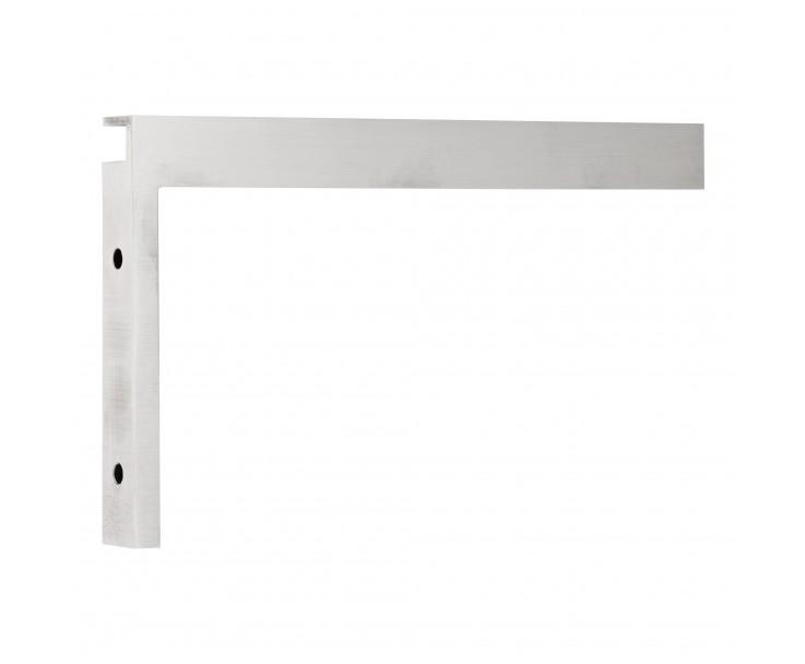 Stabilisierungswinkel 90° links für Glas-Duschen matt, Bild 5
