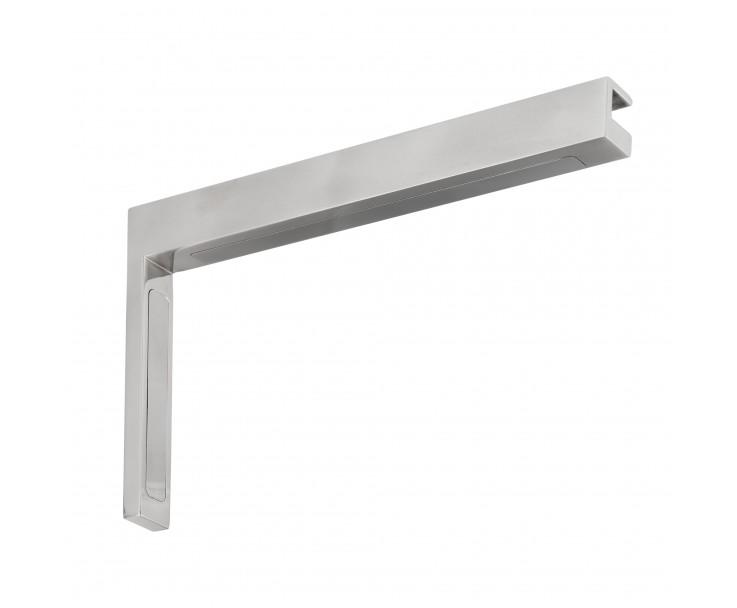 Stabilisierungswinkel 90° links für Glas-Duschen Hochglanz, Bild 2