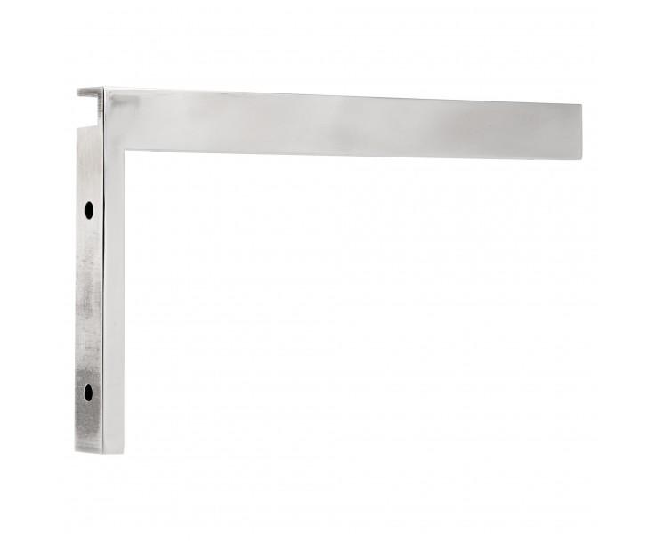 Stabilisierungswinkel 90° links für Glas-Duschen Hochglanz, Bild 4