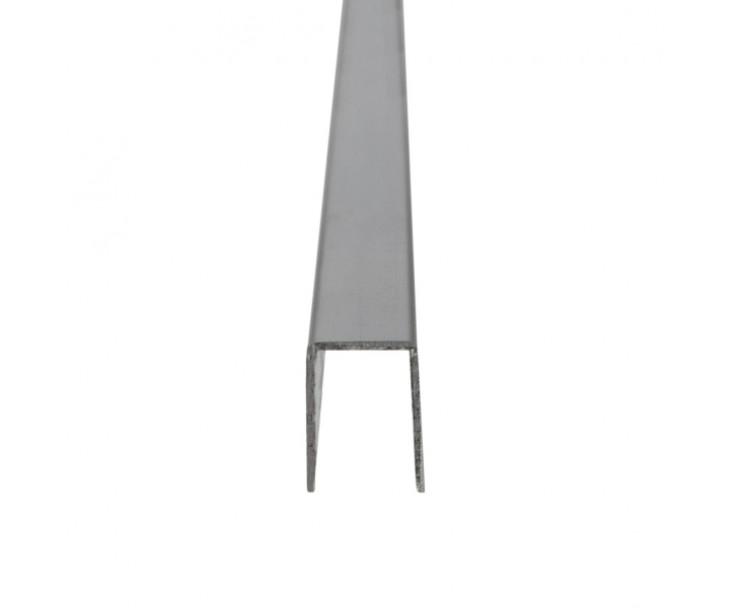 U-Profil für 6 mm Glasstärke, Bild 2