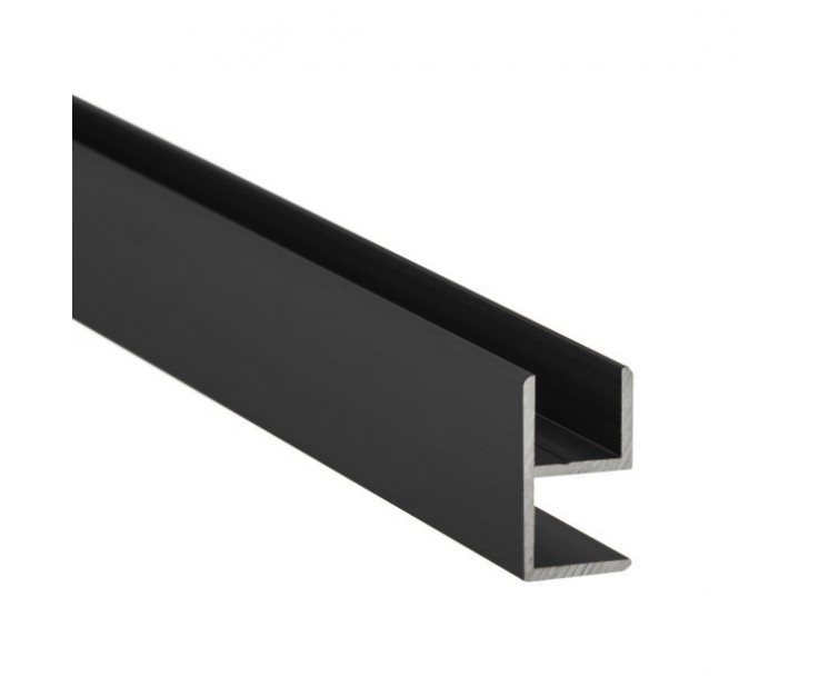 E-Profil-Alu 10 mm - Anthrazit