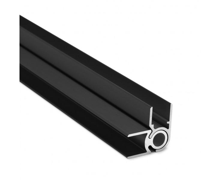 Flex-Eck-H-Profil-92° 10 mm - Anthrazit