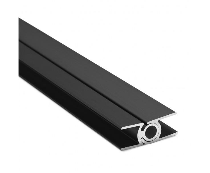 Flex-Eck-H-Profil-128° 10 mm - Anthrazit, Bild 2