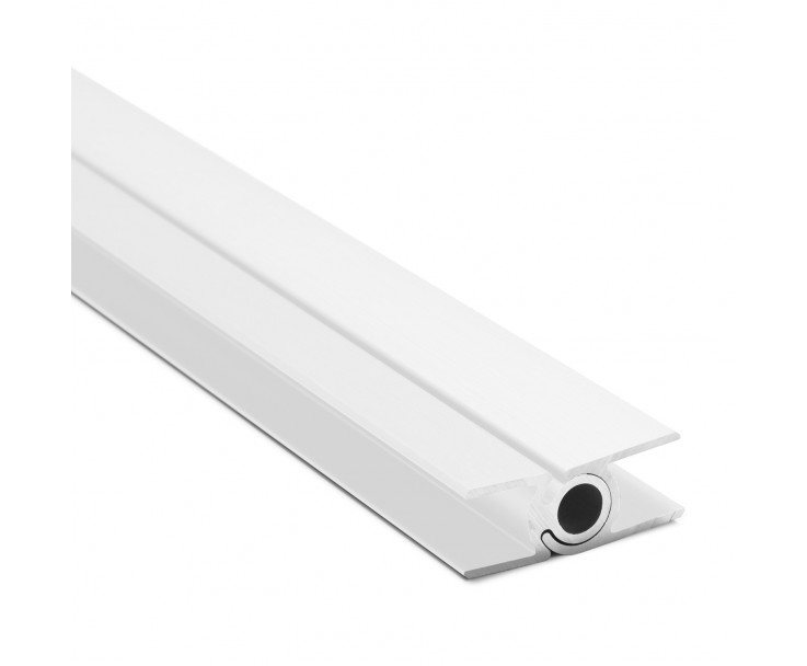 Flex-Eck-H-Profil-128° 10 mm - Weiss, Bild 2
