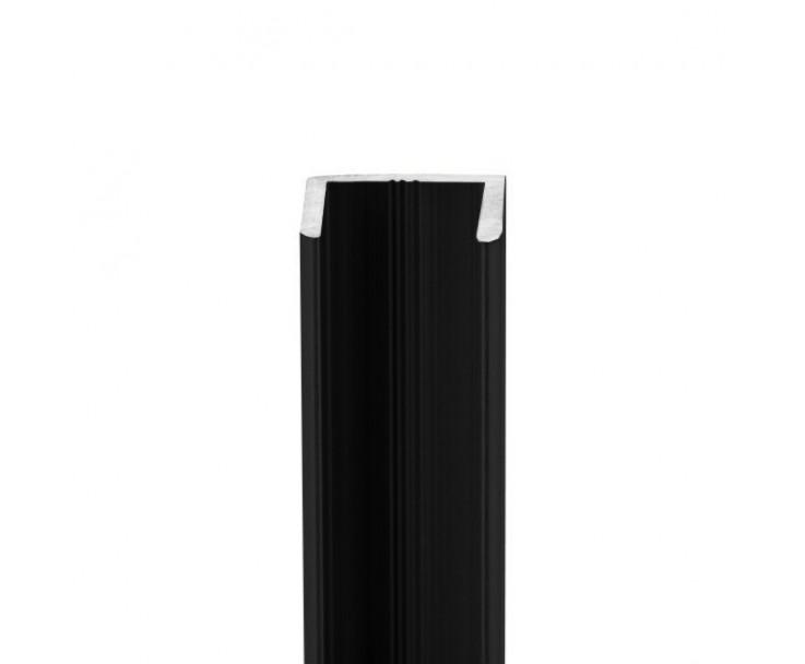 U-Profil aus Aluminium für Glasstärke 10 mm, Bild 2
