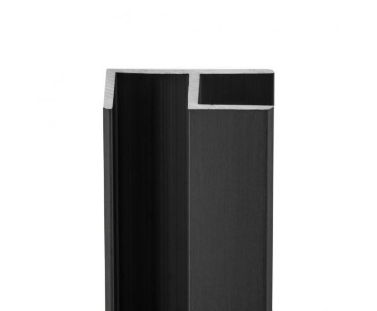 E-Profil-Alu 10 mm - Anthrazit, Bild 3