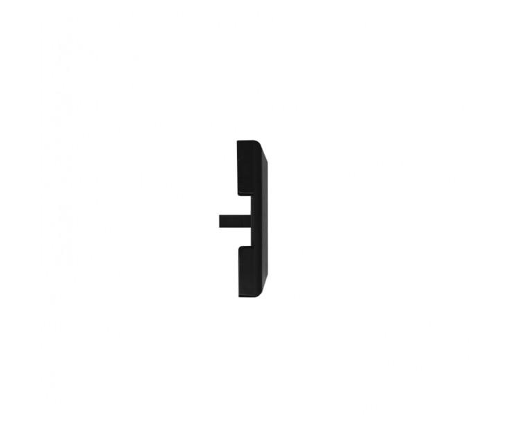 Passende Endkappe für das Glasklemmprofil Mini zum aufklipsen - Schwarz, Bild 3