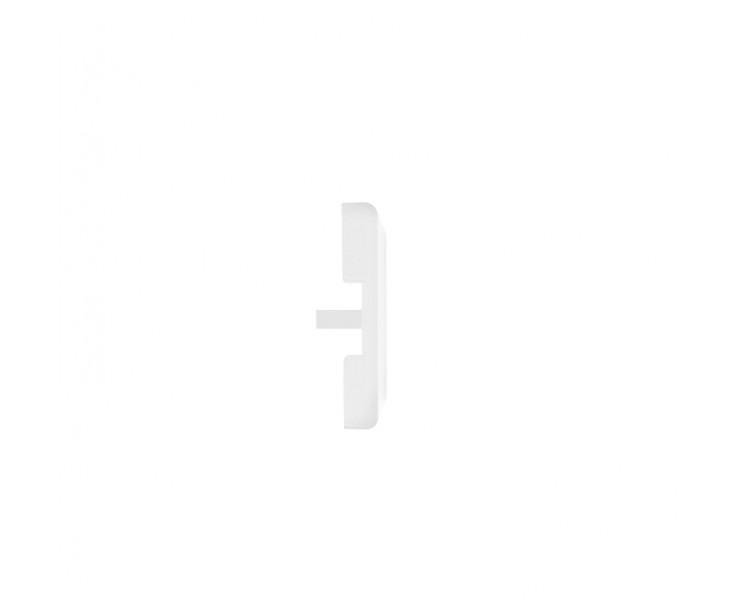 Passende Endkappe für das Glasklemmprofil Mini zum aufklipsen - Weiss, Bild 3
