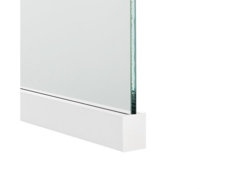 Profil für die Befestigung von Glas Trennwänden, Bild 5