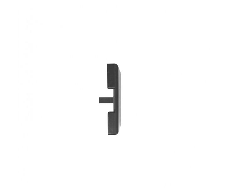 Passende Endkappe für das Glasklemmprofil Mini zum aufklipsen - Anthrazit, Bild 3