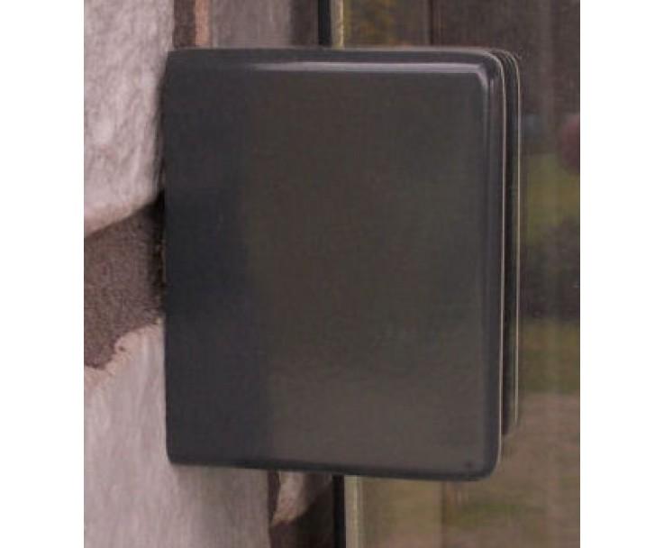 Glashalter gerader Abschluss 13,52 und 17,52 mm, eckig, Bild 4