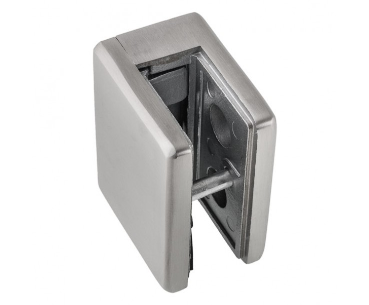 Glashalter gerader Abschluss 13,52 und 17,52 mm, eckig, Bild 2